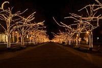 Подключение освещения зданий в Прокопьевске