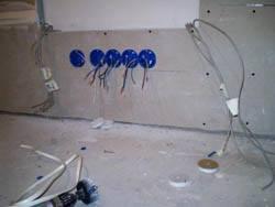 Электромонтажные работы в квартирах новостройках в Прокопьевске. Электромонтаж компанией Русский электрик